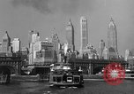 Image of skyline New York City USA, 1941, second 16 stock footage video 65675053010