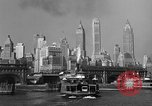 Image of skyline New York City USA, 1941, second 17 stock footage video 65675053010