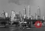 Image of skyline New York City USA, 1941, second 18 stock footage video 65675053010
