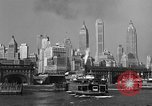 Image of skyline New York City USA, 1941, second 19 stock footage video 65675053010