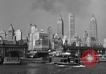 Image of skyline New York City USA, 1941, second 21 stock footage video 65675053010