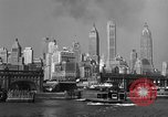 Image of skyline New York City USA, 1941, second 22 stock footage video 65675053010