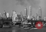 Image of skyline New York City USA, 1941, second 23 stock footage video 65675053010