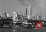 Image of skyline New York City USA, 1941, second 24 stock footage video 65675053010