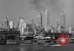 Image of skyline New York City USA, 1941, second 26 stock footage video 65675053010