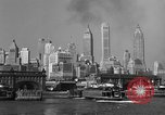 Image of skyline New York City USA, 1941, second 27 stock footage video 65675053010
