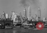 Image of skyline New York City USA, 1941, second 28 stock footage video 65675053010