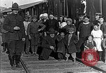 Image of Russian refugees pose for camera Vladivostok Russia, 1918, second 6 stock footage video 65675053021