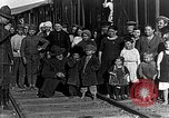 Image of Russian refugees pose for camera Vladivostok Russia, 1918, second 8 stock footage video 65675053021