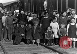 Image of Russian refugees pose for camera Vladivostok Russia, 1918, second 9 stock footage video 65675053021