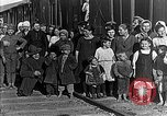 Image of Russian refugees pose for camera Vladivostok Russia, 1918, second 10 stock footage video 65675053021