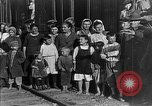 Image of Russian refugees pose for camera Vladivostok Russia, 1918, second 13 stock footage video 65675053021