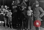 Image of Russian refugees pose for camera Vladivostok Russia, 1918, second 22 stock footage video 65675053021