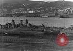 Image of Wrecked  Russian warships Vladivostok Russia, 1919, second 22 stock footage video 65675053026