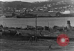 Image of Wrecked  Russian warships Vladivostok Russia, 1919, second 27 stock footage video 65675053026