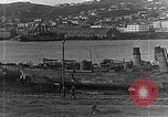 Image of Wrecked  Russian warships Vladivostok Russia, 1919, second 28 stock footage video 65675053026