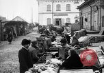 Image of US soldiers visit an open air market Archangel Russia, 1918, second 14 stock footage video 65675053036