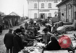 Image of US soldiers visit an open air market Archangel Russia, 1918, second 18 stock footage video 65675053036