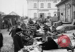 Image of US soldiers visit an open air market Archangel Russia, 1918, second 20 stock footage video 65675053036