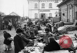Image of US soldiers visit an open air market Archangel Russia, 1918, second 23 stock footage video 65675053036
