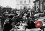 Image of US soldiers visit an open air market Archangel Russia, 1918, second 30 stock footage video 65675053036