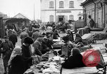 Image of US soldiers visit an open air market Archangel Russia, 1918, second 31 stock footage video 65675053036