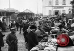 Image of US soldiers visit an open air market Archangel Russia, 1918, second 34 stock footage video 65675053036