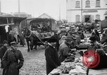 Image of US soldiers visit an open air market Archangel Russia, 1918, second 35 stock footage video 65675053036