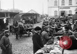 Image of US soldiers visit an open air market Archangel Russia, 1918, second 36 stock footage video 65675053036