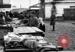 Image of US soldiers visit an open air market Archangel Russia, 1918, second 39 stock footage video 65675053036