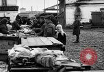 Image of US soldiers visit an open air market Archangel Russia, 1918, second 42 stock footage video 65675053036