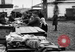 Image of US soldiers visit an open air market Archangel Russia, 1918, second 43 stock footage video 65675053036