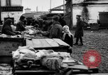 Image of US soldiers visit an open air market Archangel Russia, 1918, second 45 stock footage video 65675053036