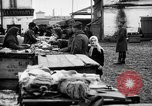 Image of US soldiers visit an open air market Archangel Russia, 1918, second 47 stock footage video 65675053036