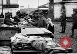 Image of US soldiers visit an open air market Archangel Russia, 1918, second 48 stock footage video 65675053036