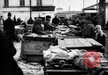 Image of US soldiers visit an open air market Archangel Russia, 1918, second 52 stock footage video 65675053036