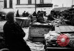Image of US soldiers visit an open air market Archangel Russia, 1918, second 55 stock footage video 65675053036