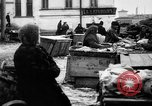 Image of US soldiers visit an open air market Archangel Russia, 1918, second 56 stock footage video 65675053036