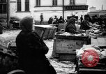 Image of US soldiers visit an open air market Archangel Russia, 1918, second 59 stock footage video 65675053036
