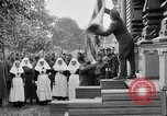 Image of Raising American flag at Red Cross hospital Archangel Russia, 1918, second 2 stock footage video 65675053037