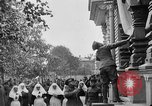 Image of Raising American flag at Red Cross hospital Archangel Russia, 1918, second 7 stock footage video 65675053037