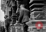 Image of Raising American flag at Red Cross hospital Archangel Russia, 1918, second 25 stock footage video 65675053037
