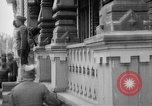 Image of Raising American flag at Red Cross hospital Archangel Russia, 1918, second 26 stock footage video 65675053037