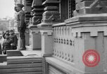 Image of Raising American flag at Red Cross hospital Archangel Russia, 1918, second 29 stock footage video 65675053037
