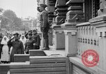 Image of Raising American flag at Red Cross hospital Archangel Russia, 1918, second 30 stock footage video 65675053037