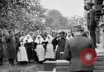 Image of Raising American flag at Red Cross hospital Archangel Russia, 1918, second 34 stock footage video 65675053037