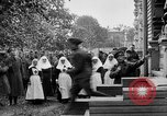 Image of Raising American flag at Red Cross hospital Archangel Russia, 1918, second 36 stock footage video 65675053037