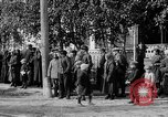Image of Raising American flag at Red Cross hospital Archangel Russia, 1918, second 46 stock footage video 65675053037