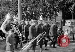 Image of Raising American flag at Red Cross hospital Archangel Russia, 1918, second 50 stock footage video 65675053037