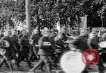 Image of Raising American flag at Red Cross hospital Archangel Russia, 1918, second 53 stock footage video 65675053037